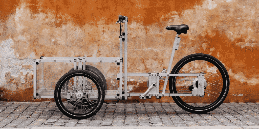 The modular XYZ Cargo Trike by N55.